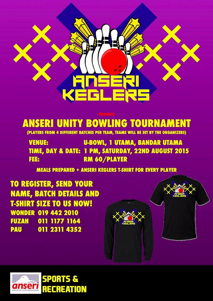 ANSERI Unity Bowling Tournament 2015